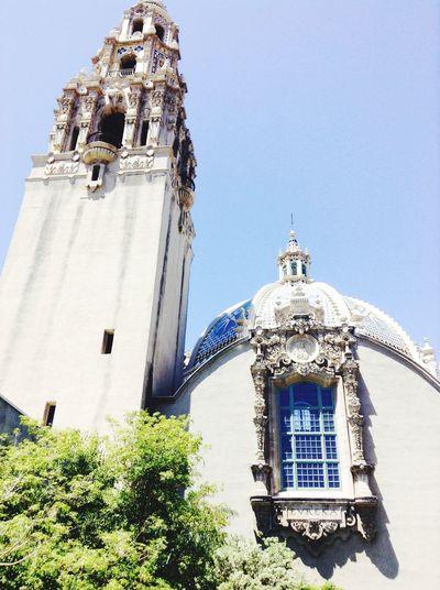 Summer Days Museum Walking Around Historical Building San Diego