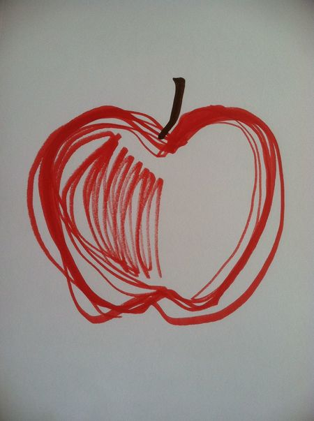 Apple Apple Art Apple Drawing Apples Art Drawing  Art Sketch Art, Artwork & Sketch Art, Drawing, Creativity ArtWork Draw Drawing Drawings My Artwork My Drawings My Sketch My Sketches Original Artwork Red Apple Red Apples Simple Art Simple Drawing Sketch Sketch Art Sketches Sketching