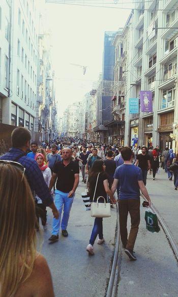 Istiklal Caddesi Hi! Hello World Ask ♥♡♥ Istanbul Turkey :))
