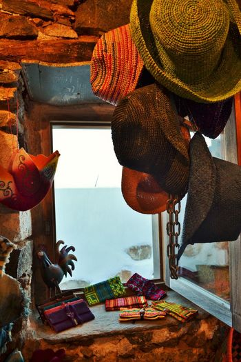 Colourful Hats Colourful Life Hang Out With Friends Hat Every Hat Style  Serifos Greek Island Shopping Time!! Traditional Shop
