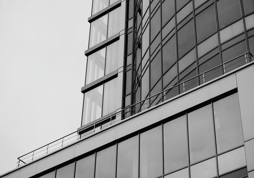 Low Angle View Business Finance And Industry Built Structure Outdoors Architecture Open Edit Eyeem Photo From My Point Of View By Ivan Maximov Exceptional Photographs Lifestyle Architecture Geometric Shape Urban Geometry Composition Modern Architecture Building Exterior Lines And Shapes Great Outdoors Lines