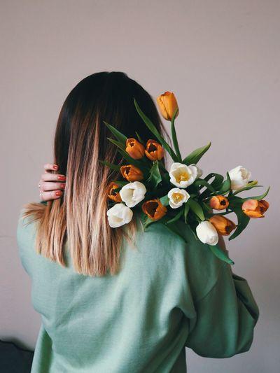 Tulip behind
