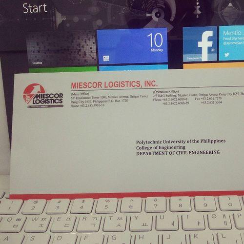 Yung evaluation form ko sa ojt naka envelope sealed la.Haha ; ) LastDay 1weekSummerRest .