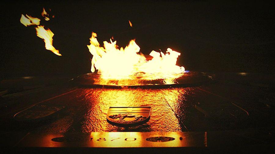 Centennial Flame Parliament Hill Ottawa Canada