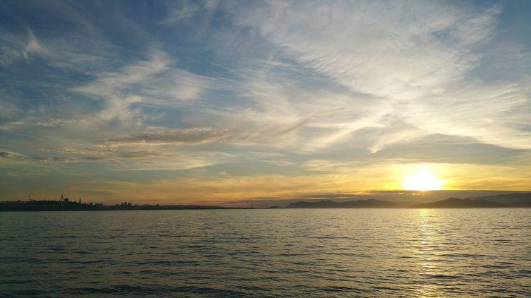 Sunset Bay Area Indiansummer 2015