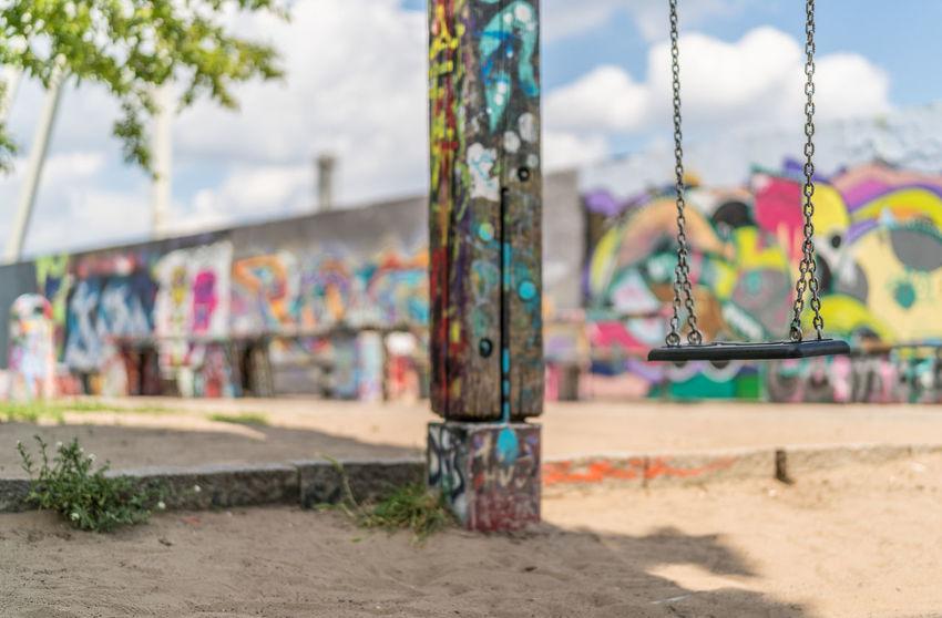 Mauerpark Bernauer Straße, Berlin Berlin, Germany  Cityscape Creativity Stadt Art Day Grafitti Multi Colored No People Outdoors