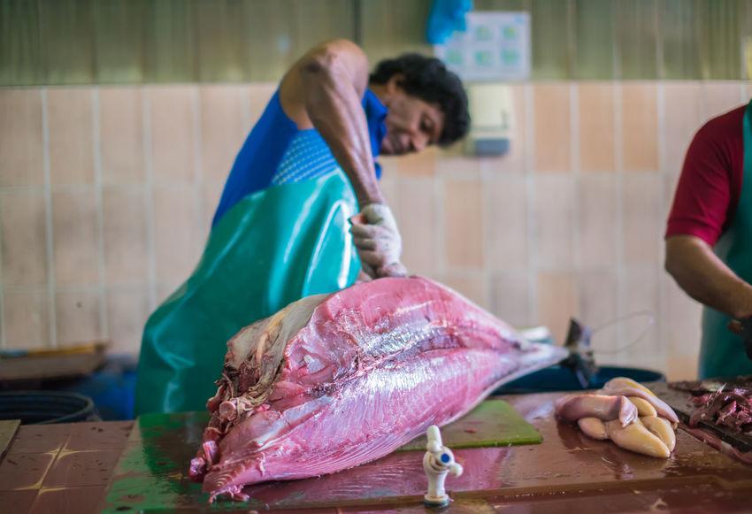 Animals Big Tuna Fillet Fish Fish Fillet Fish Market Fishing Man Fresh Fish Fresh Fish Market Fresh Tuna Maldives Maldives Island Male Maldives Man Market Raw Food Seafood Travel Tuna Fish