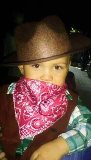 Little Cowboy Don't Let The Cuteness Fool You, We Roll Like A Boss! <3 To Be A Kid Again Youthfulness Hello World Our Future Leaders