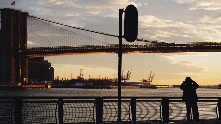 - Sunset Vibes EyeEm Gallery Eye4photography  Travcimages Photooftheday Sunset NYC New York Bridge Shootermag Popular Photos