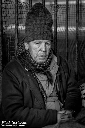 """Johnny"" taken from my Manchester Homeless series. EyeEm Best Shots EyeEm Best Shots - People + Portrait EyeEm Best Shots - Black + White Bw_collection The Human Condition Up Close Street Photography"
