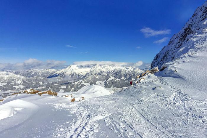 Fieberbrunn Alm Alpen Austria Fieberbrunn Hütte Kitzbühel Skiing Snowboarding Winter Alps Fieberbrunn, Hut Kitzbuehel Kitzbuhel Alpen Kitzbüheler Alpen Pillerseetal Ski Snow Snowboard Sport