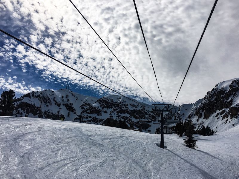No People Snow Winter Cold Temperature Nature Sky Beauty In Nature Cloud - Sky Scenics Day Mountain Ski Lift Outdoors Landscape