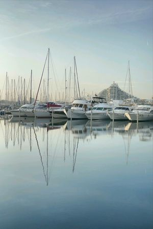 Lagrandemotte France Sea Mediterranean  Outdoor Mycity Harbour Boats