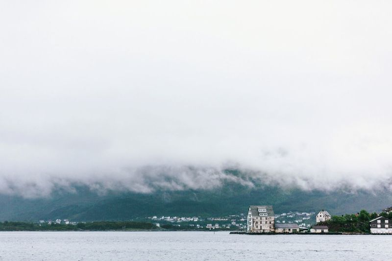 Norway Norvège  Noruega Norwegian Aalesund Aalesund, Norway Fog Foggy Cloud Clouds Lowclouds Low Clouds Moody Moody Weather Scandinavia Scandinavian Minimalmood Minimallandscape The Great Outdoors - 2017 EyeEm Awards