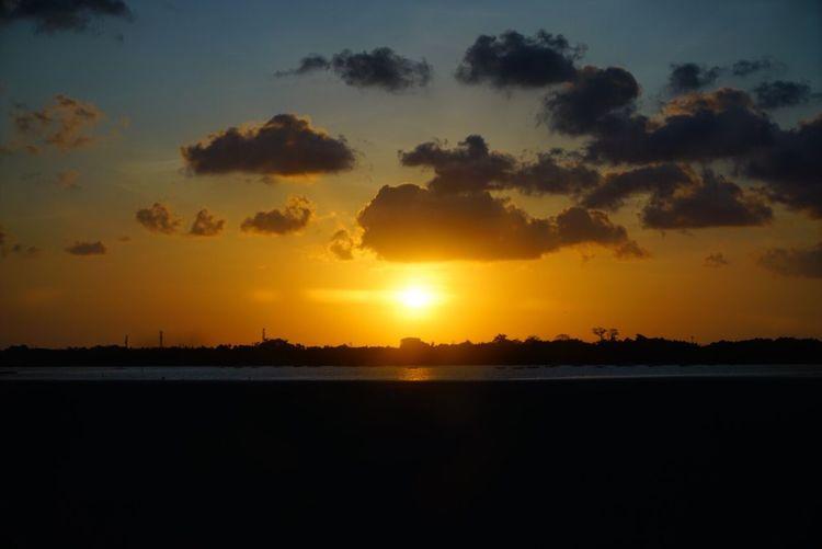 Sunset Beautiful Surroundings