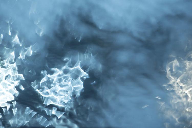 Full frame shot of blue water