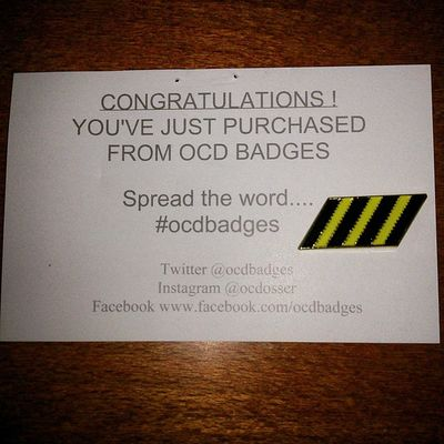 Thanks @ocdosser for the Thethreestripes Badge 👌👏👏