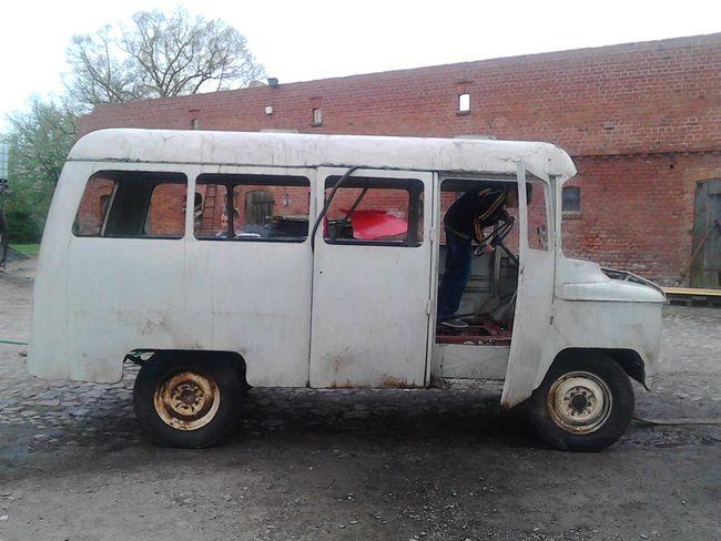 Old Car Nysa Wreck Vehicle