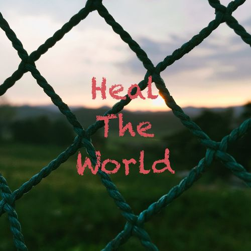 Heal The World World Forchildren Healtheworld Fence Security Protection Safety Barrier Boundary Text Western Script Sky Communication Day No People Close-up Heart Shape Chainlink Fence Emotion Focus On Foreground Metal Outdoors Nature Summer Exploratorium