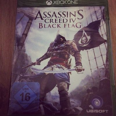 First XboxOne Game Assasinscreed i love this Series