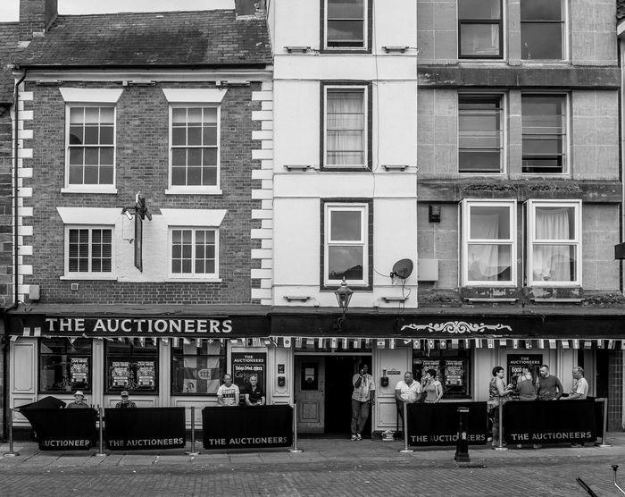 The Auctioneers, Market Square, Northampton Northampton Northampton Pubs Architecture Black And White