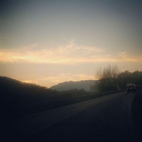 Inseguo orizzonti lontani Landscape