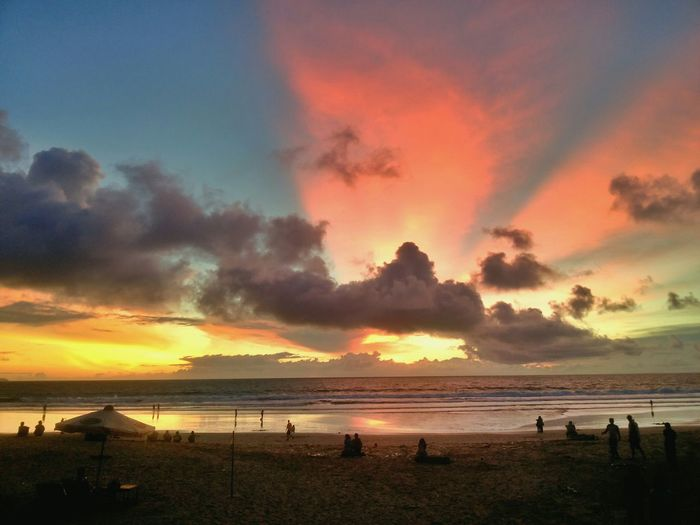 Legian beach Bali Indonesia Beach Photography Sun_collection Nature Sky_ Collection VSCO Cloud And Sky EyeEm Indonesia