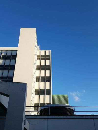 Reynold Building Manchester Architecture Built Structure Building Exterior Low Angle View Modern Manchester University