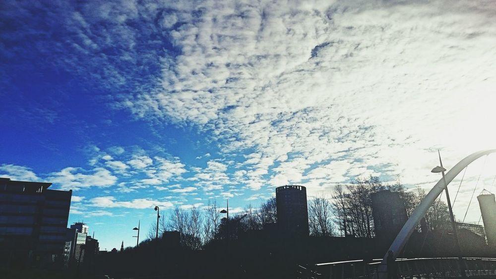 Sky Blue Sky Leeds Look Up In Leeds Eyeemgallery EyeEm Best Shots Blue Sky And Clouds Clouds