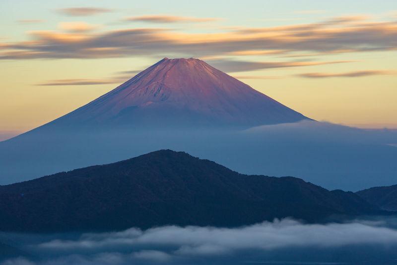 Mount fuji from hakone.