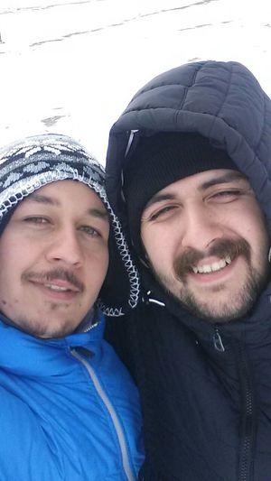 Happy Friends Hi! Hello World Could  Winter