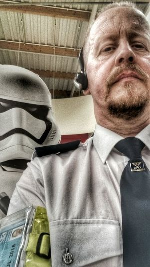 The New Guy... SecurityGuard Thats Me :) Stormtrooper HA! Just For Laughs:-) Taking Photos Selfie ✌ For Friends That Connect  Tadda Community Star Wars The Force Awakens Starwars