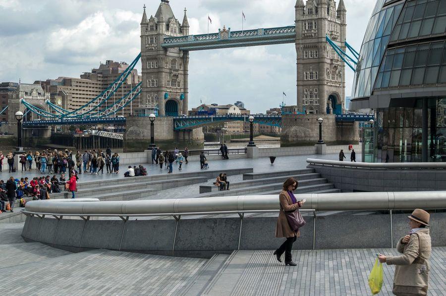 Tower Bridge  Streetphotography London People Watching Candid Photography Streetlife