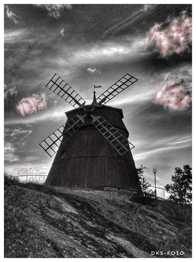 Sweden The True Story Windmill Wind Turbine Traditional Windmill Wind Power Industrial Windmill Alternative Energy Auto Post Production Filter Sky Architecture Built Structure