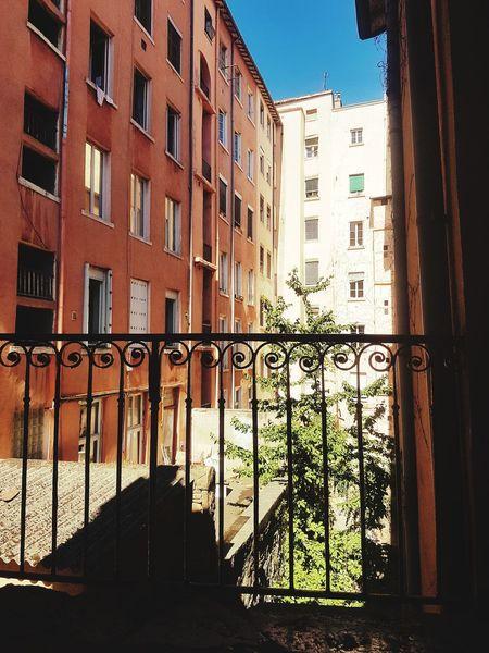 Window Architecture Built Structure Building Exterior Day Outdoors No People City Sky Street France 🇫🇷 France🇫🇷 Lyon Croix Rousse PentesdelacroixRousse Sun Shadow