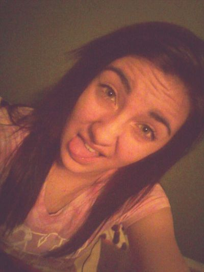 First Picturee <3 just heard of this site todaay and wanted to try it ouut ^.^ Newww But Ayeee. Selfieeee Tounge Out  Followw^.^
