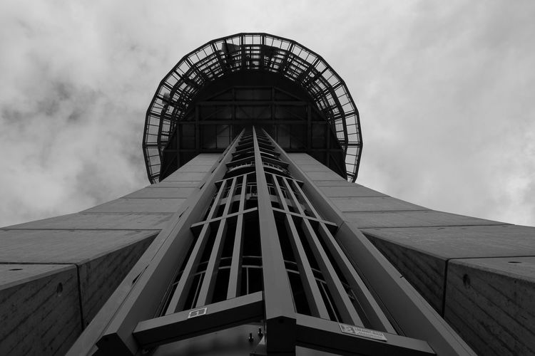 Built Structure Architecture No People Day Sky Mont-Gibloux Building Exterior Architecture Communication Tower Construction Global Communications Low Angle View Broadcasting Station HJB Blackandwhite Black & White Black Blackandwhite Photography Outdoor Kanton Fribourg View High Level