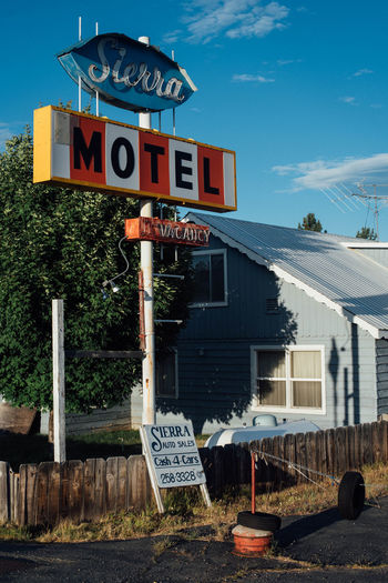 Sierra Motel Abandoned Architecture Billboard Billboards Building Exterior Built Structure City Life Foreclosed Modern No People