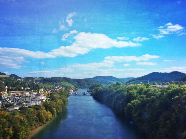 From the train. The Rhine Landscape_Collection Streamzoofamily EyeEm Nature Lover EyeEmSwiss Water_collection Nature_collection