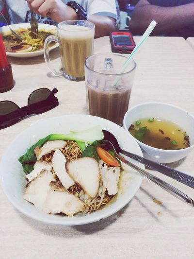 Hari ini breakfast mee kolok dap. KuchingSarawakHungryalready What