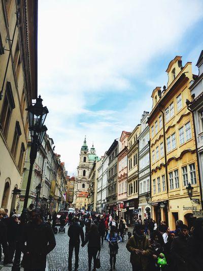 Road to Prague castle Hello World