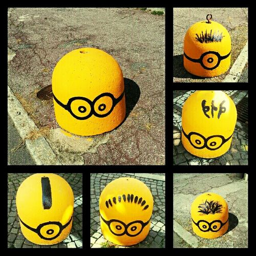 Minions 😊 found them in Varenna, Italy What Means Summer? Eye4photography  Yellow The World Needs More Yellow Minionsworld I Love Minions Minions ♥♥ MinionsUnterwegs The Minions :) I Love Minions ♡♡♡
