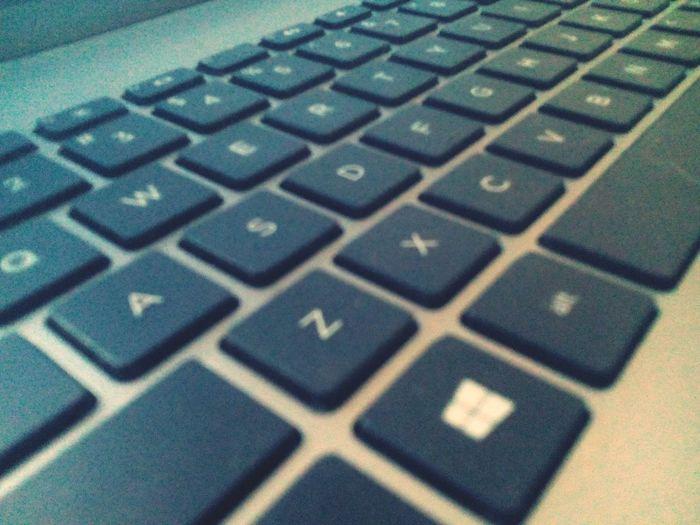 Keyboard alphabets....