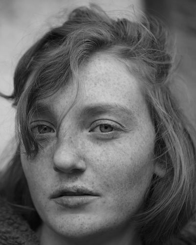 The Portraitist - 2017 EyeEm Awards Real People One Person Close-up Young Adult Headshot Human Face Young Women Portrait Beautiful Woman Day Outdoors People