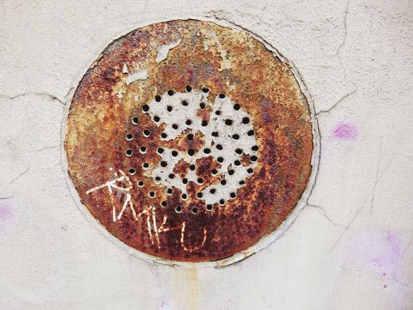 Rust Rusty Wall Metal Rustygoodness Round Close-up Copy Space Open Space Background Texture Background Backgrounds Abstract Textures And Surfaces Textured  Textures Texture Surface Showcase April