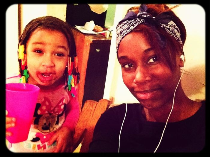 Me & Ra Ra...she bang'd dat ice cream