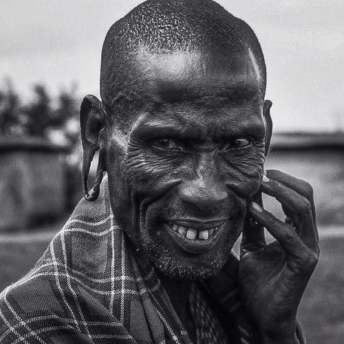 Masai Mara Bw_portraits