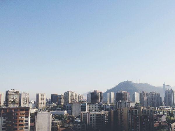 Enjoying The View Santiago