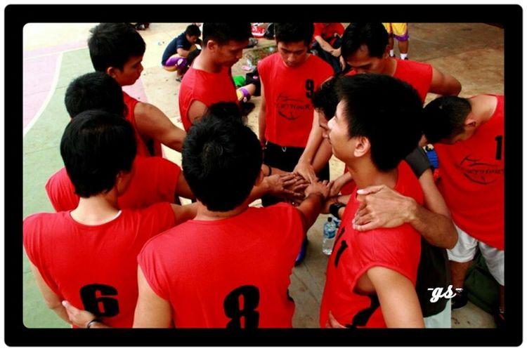 "Team__(3) ""Ora et Labora"" Basketball Portrait Enjoying Life"