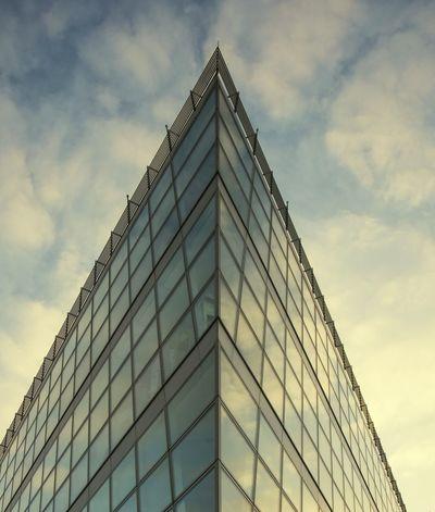 Düsseldorf City Architecture Details Germania Hello World